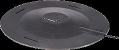 Pad with three-axis vibration transducer